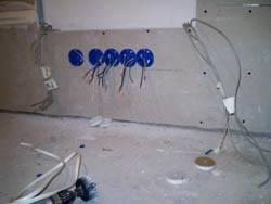 Электромонтажные работы в квартирах новостройках в Кстове. Электромонтаж компанией Русский электрик
